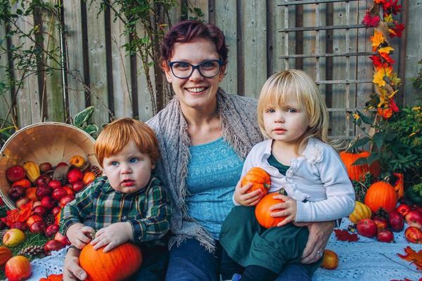 Sick Kids family photo
