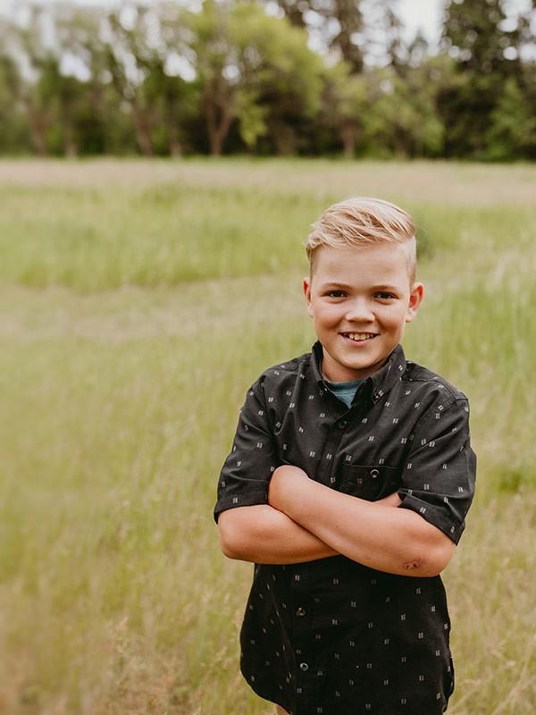 Jim Pattison boy photo