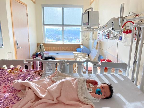 Alberta Baby in hospital